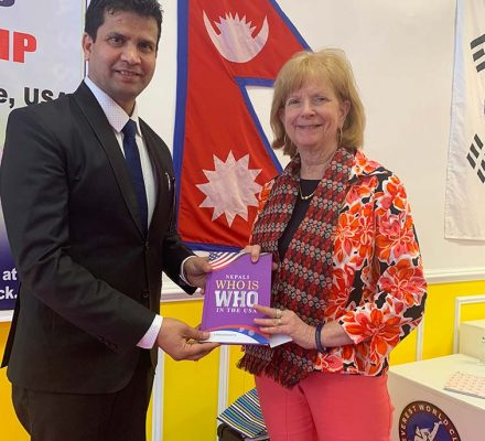 author of nepali who is who
